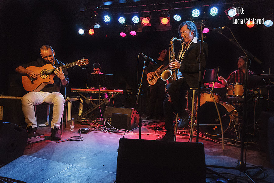 Jorge Pardo, Barcelona, flauta, saxo, flamenco, musica en vivo, España, guitarra flamenca, Paco de Lucia, Camaron, flamenco jam, groove, musica electronica, metaflamenco, Djinn, gira 2017, nuevo CD